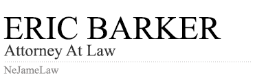 Eric Barker | Attorney At Law